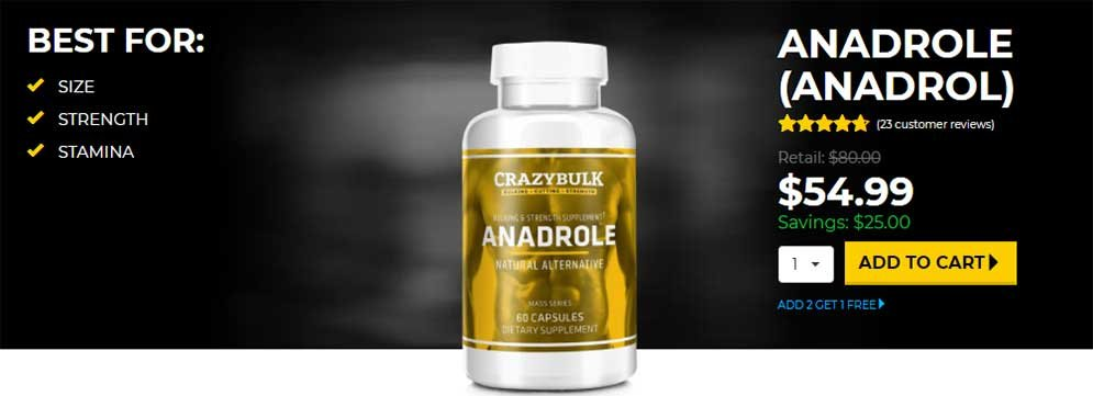 Anadrol Top Bulking Steroids