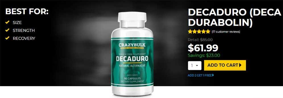 Deca Durabolin bulking steroids
